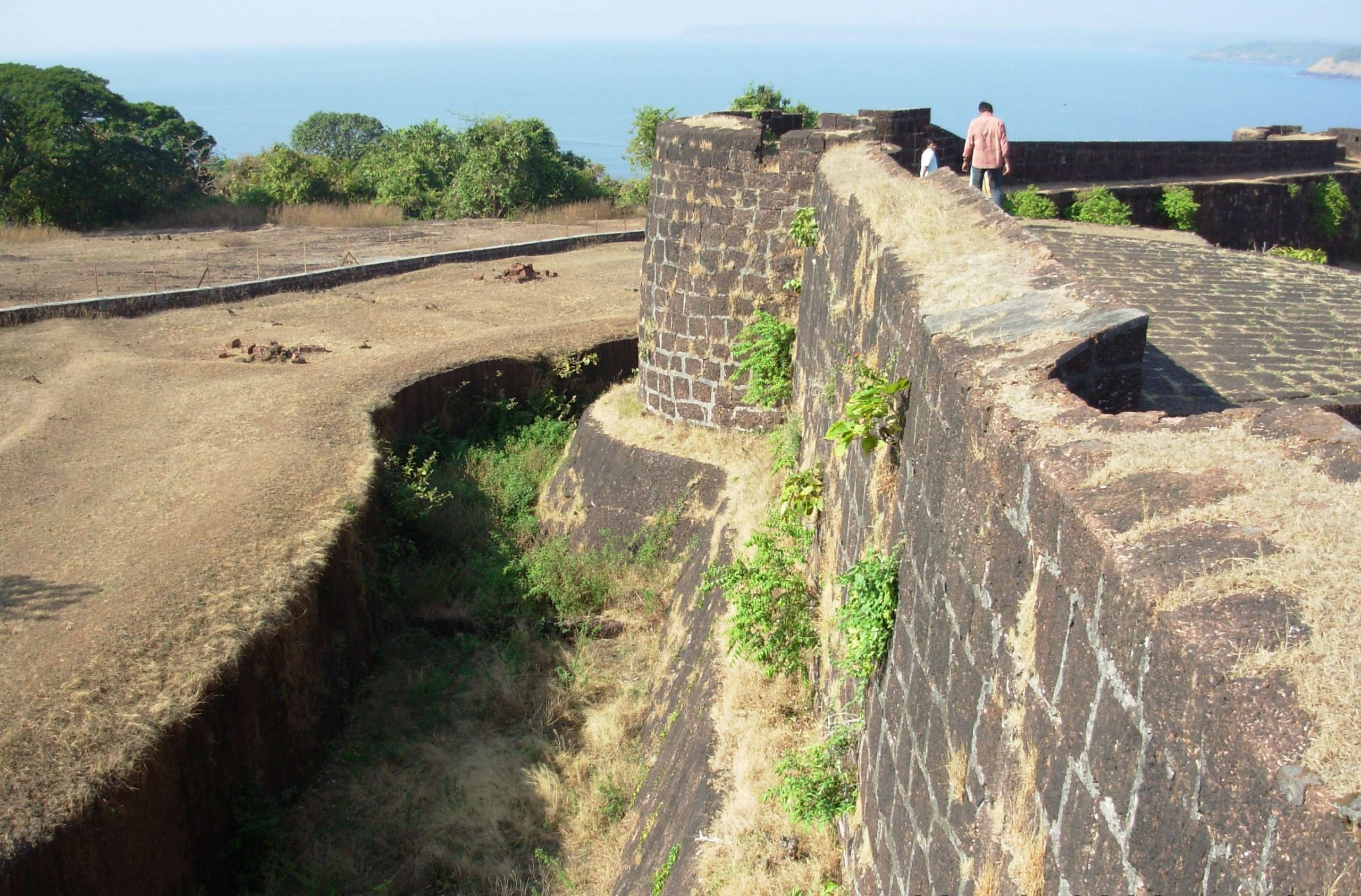 Jaigad Fort - The Fort with the Sea and Hills Surrounding It
