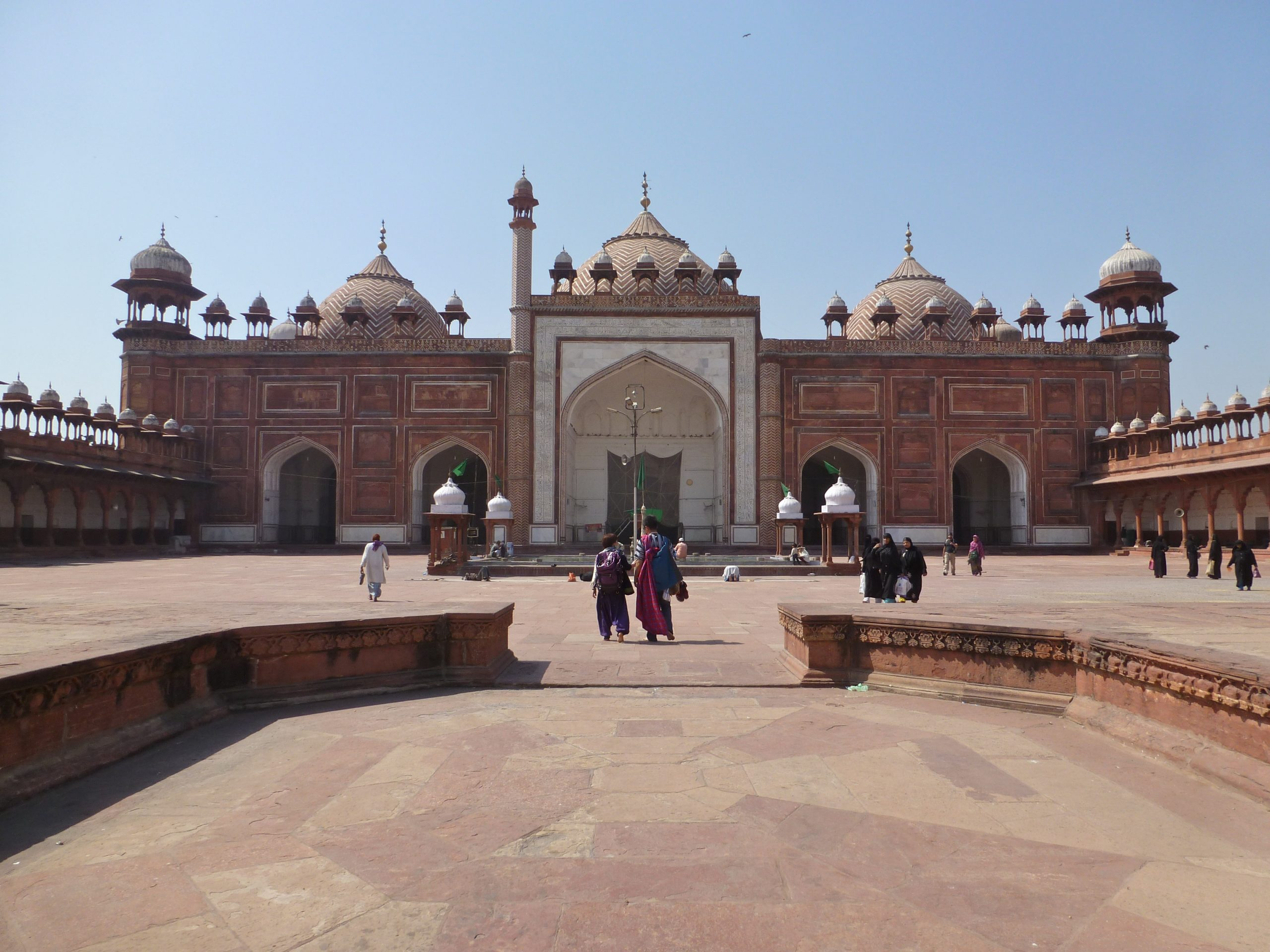 Amazing Sightseeing Place in Agra-Jama Masjid