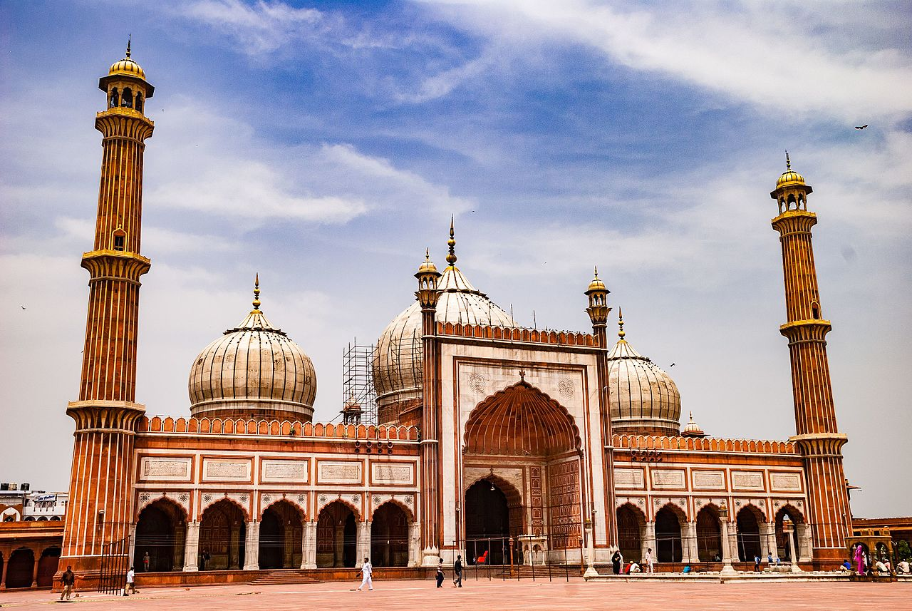Attraction Historical Place To Visit In Delhi-Jama Masjid