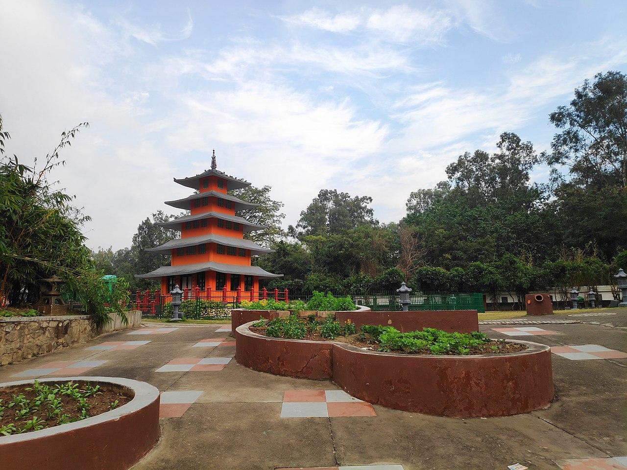 Top-Rated Destinations in Chandigarh-Japanese Garden