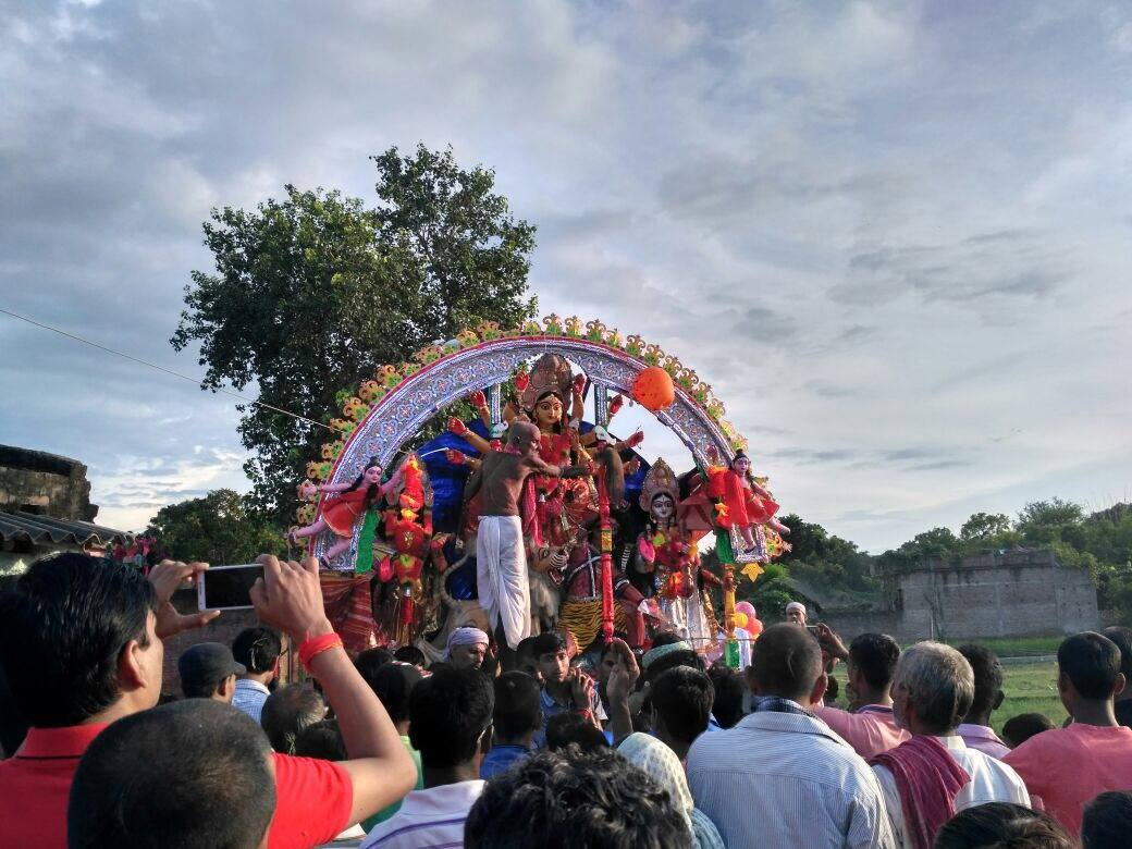 Top Visit Place To See In Madhubani, Bihar-Durga Puja,Jhanjharpur