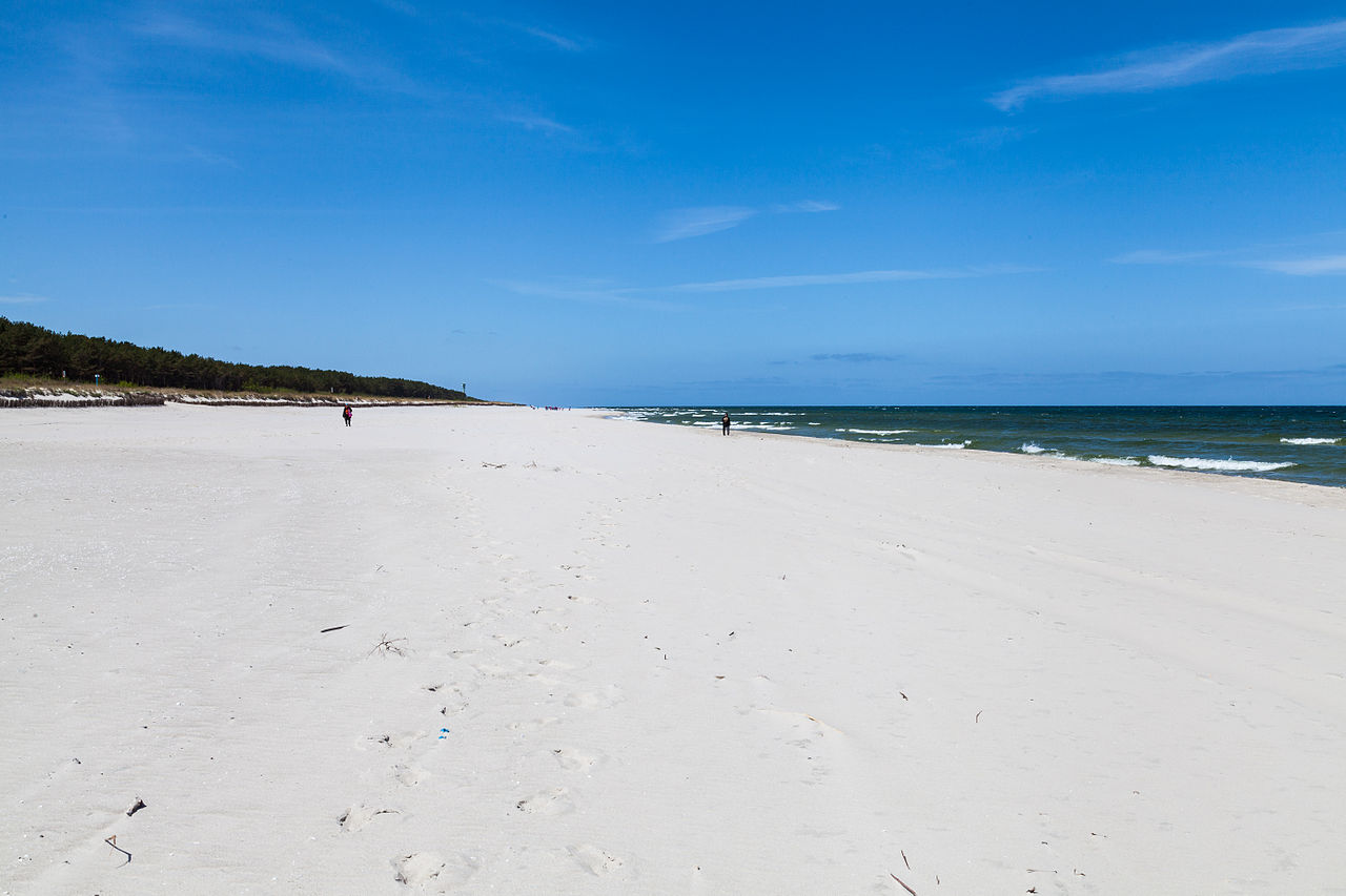 Amazing Place To Visit In Northern Poland-Jurata Beach