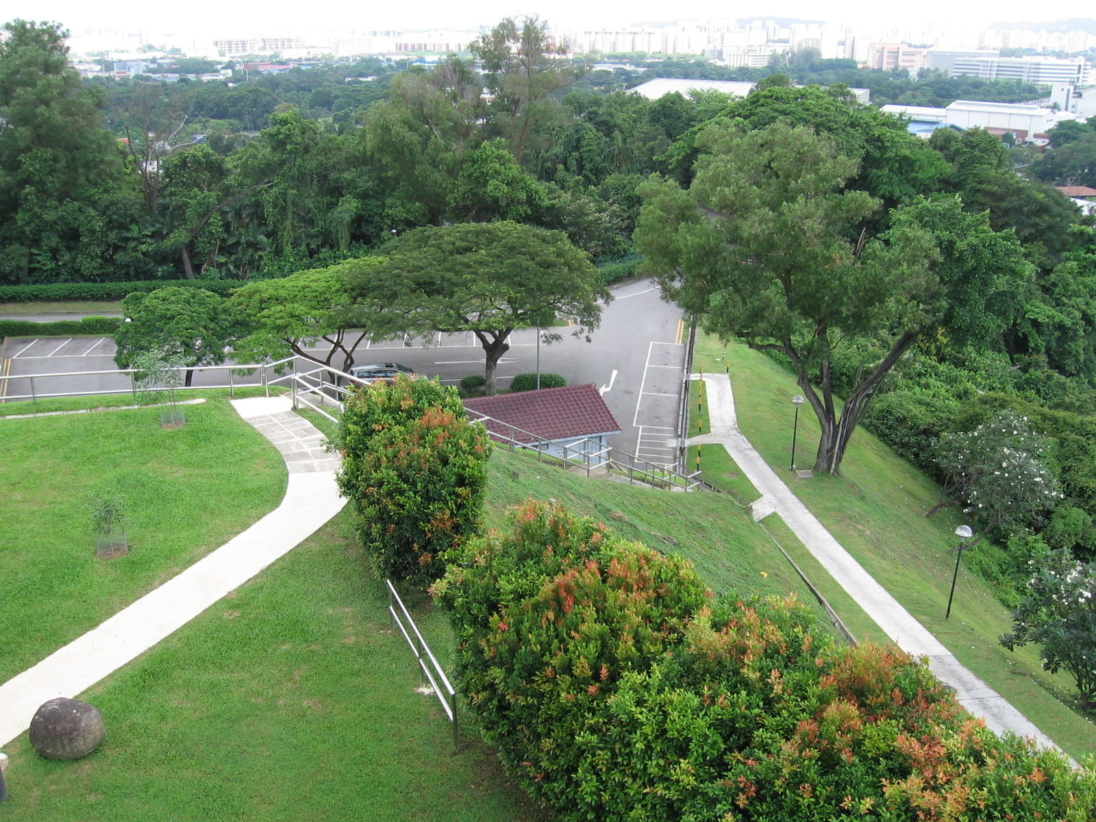 Best Hill or Highest Natural Point in Singapore-Jurong Hill