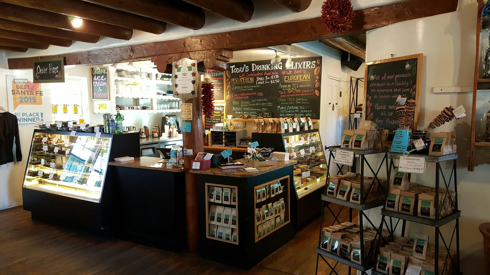 Incredible Place To Visit In Santa Fe, New Mexico-Kakawa Chocolate House
