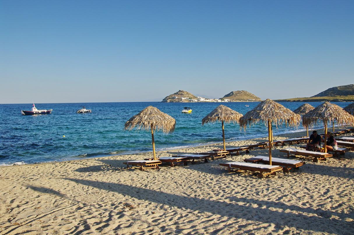 Top Tour Place in Mykonos Island, Greece-Kalafatis Beach
