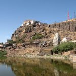 The Kalika Mata temple is on the Pavagadh Hill