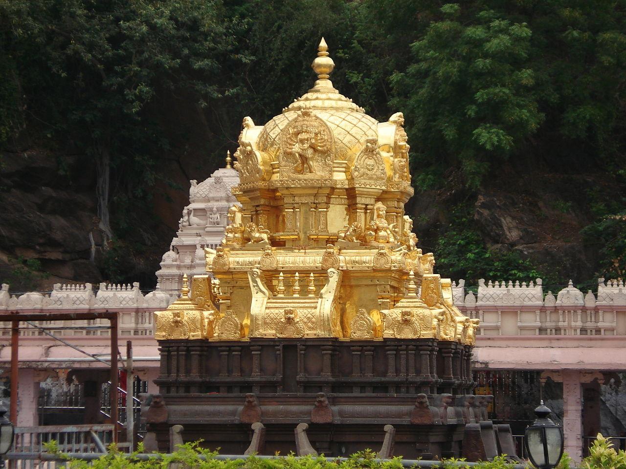 Must Visit Place Near Undavalli Caves-Kanaka Durga Temple