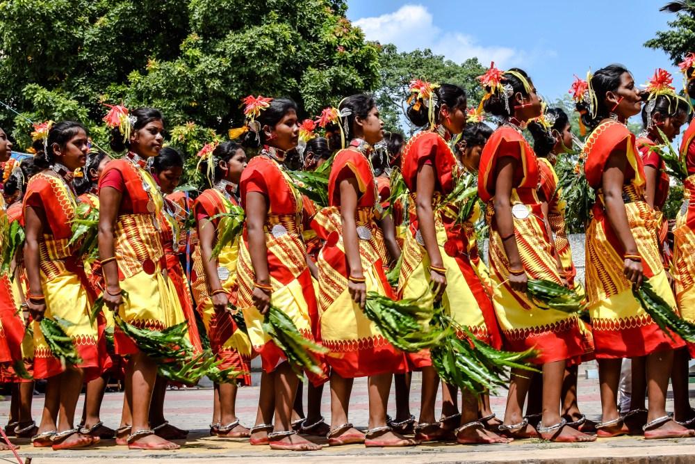 Famous Folk Dance of Chhattisgarh-Karma Dance
