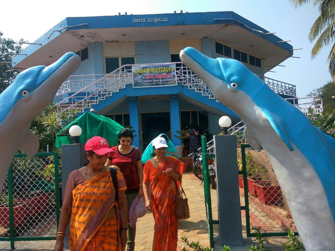Best Place To See Near Karwar Beach, Karwar Aquarium
