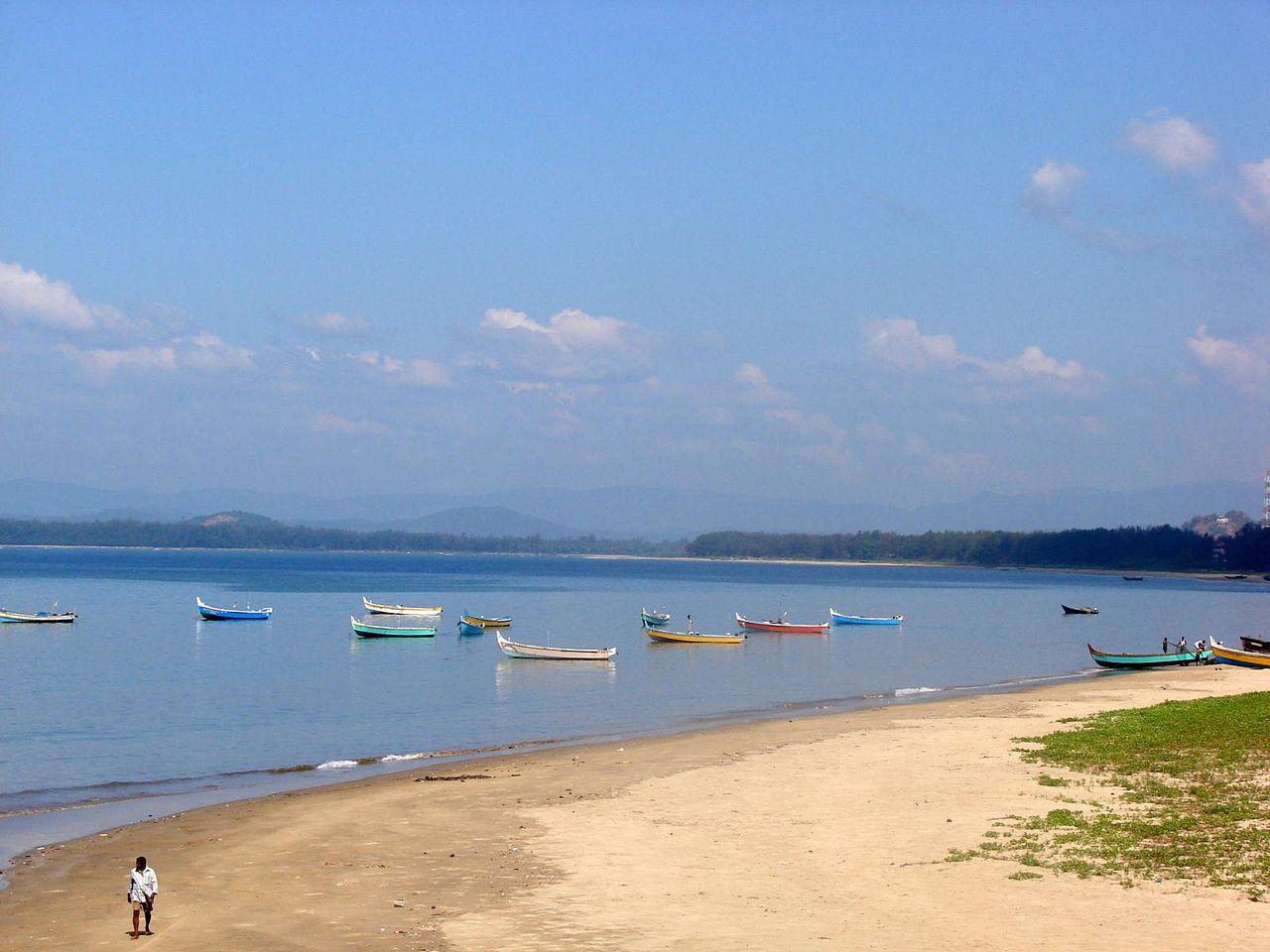 Tourist Top-Rated Destination In Coastal Karnataka-Karwar Beach, Uttara Kannada