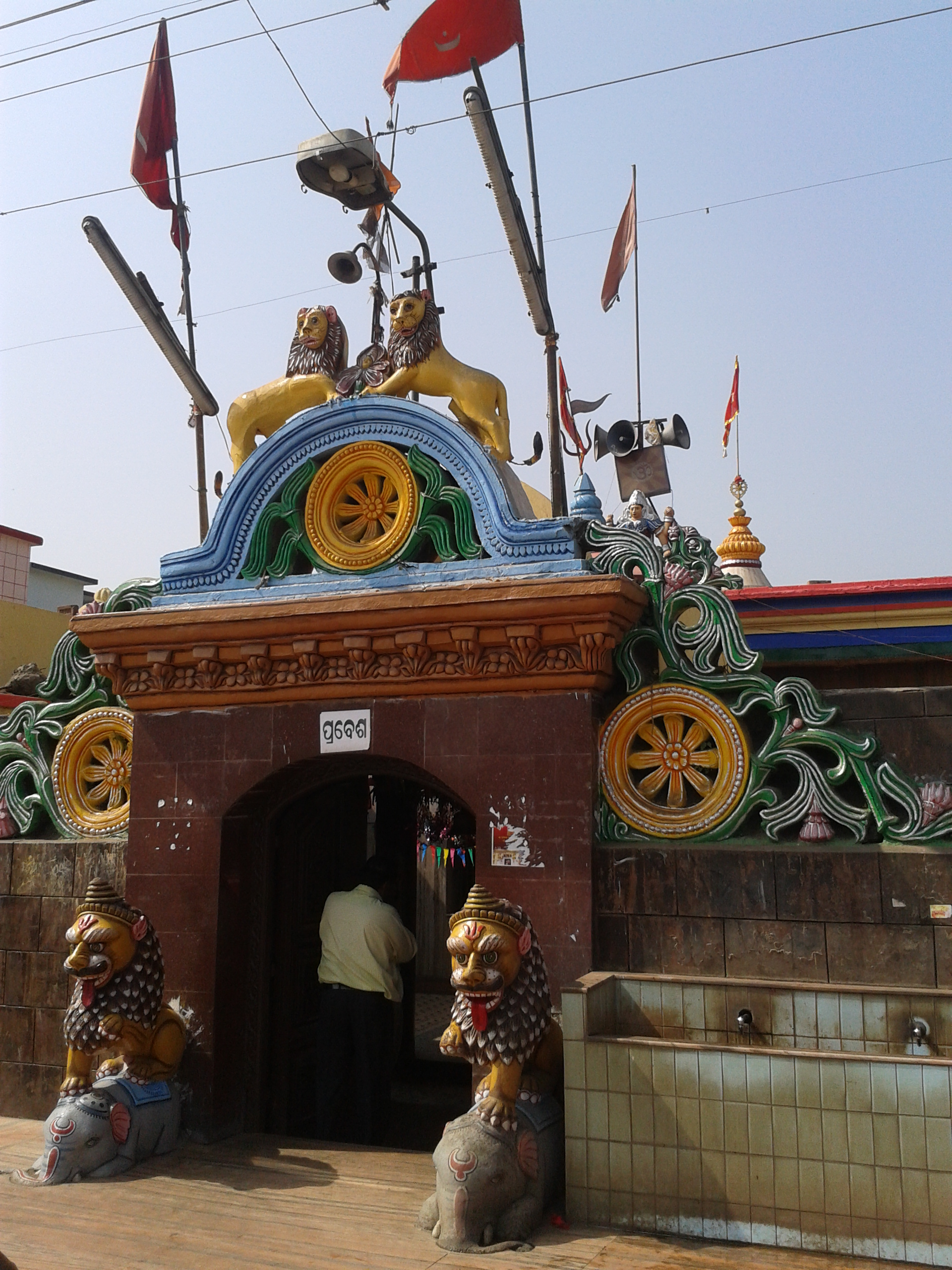 Best Place To Visit In Cuttack-Kataka Chandi Temple