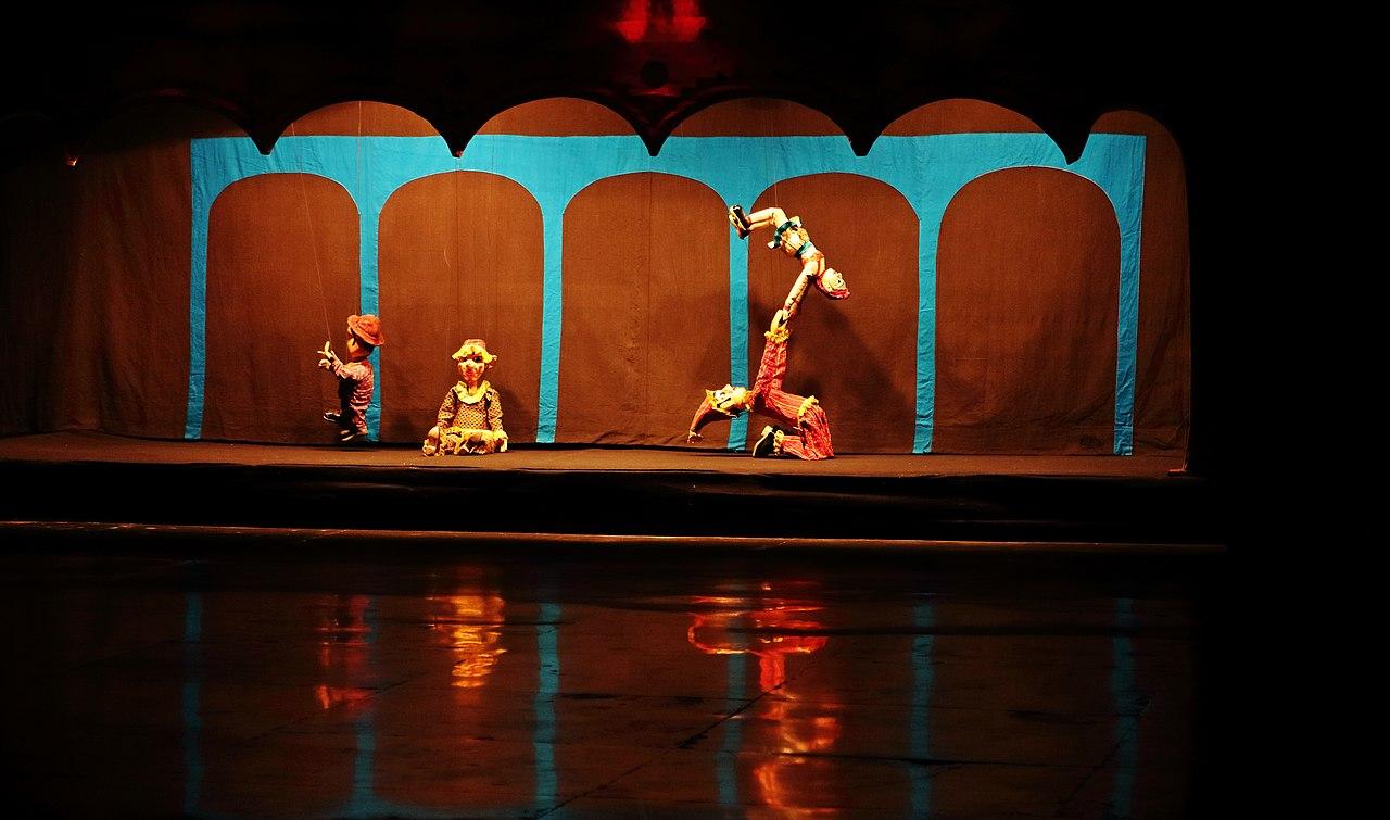 Attraction Folk Dance Of Rajasthan-Kathputli Folk Dance