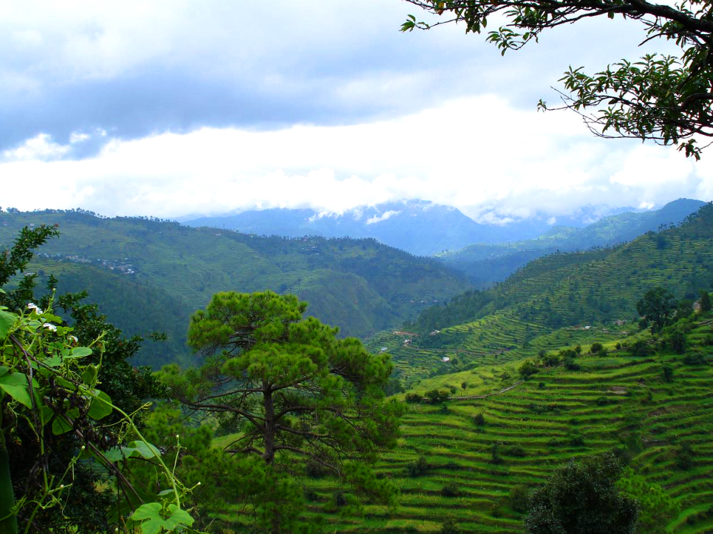 Beautiful Hill Station Near Delhi-Kausani