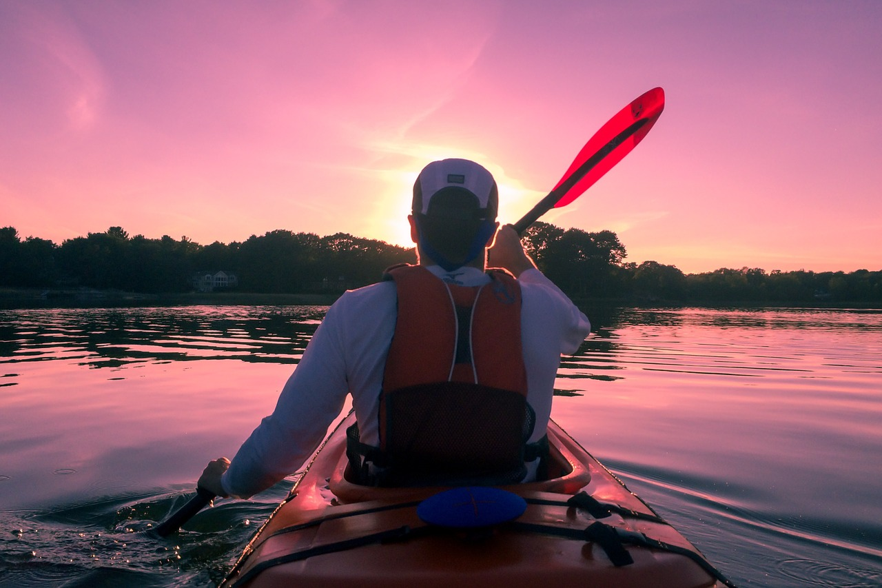 Thrilling and Adventurous Water Sports in Kerala-Kayaking