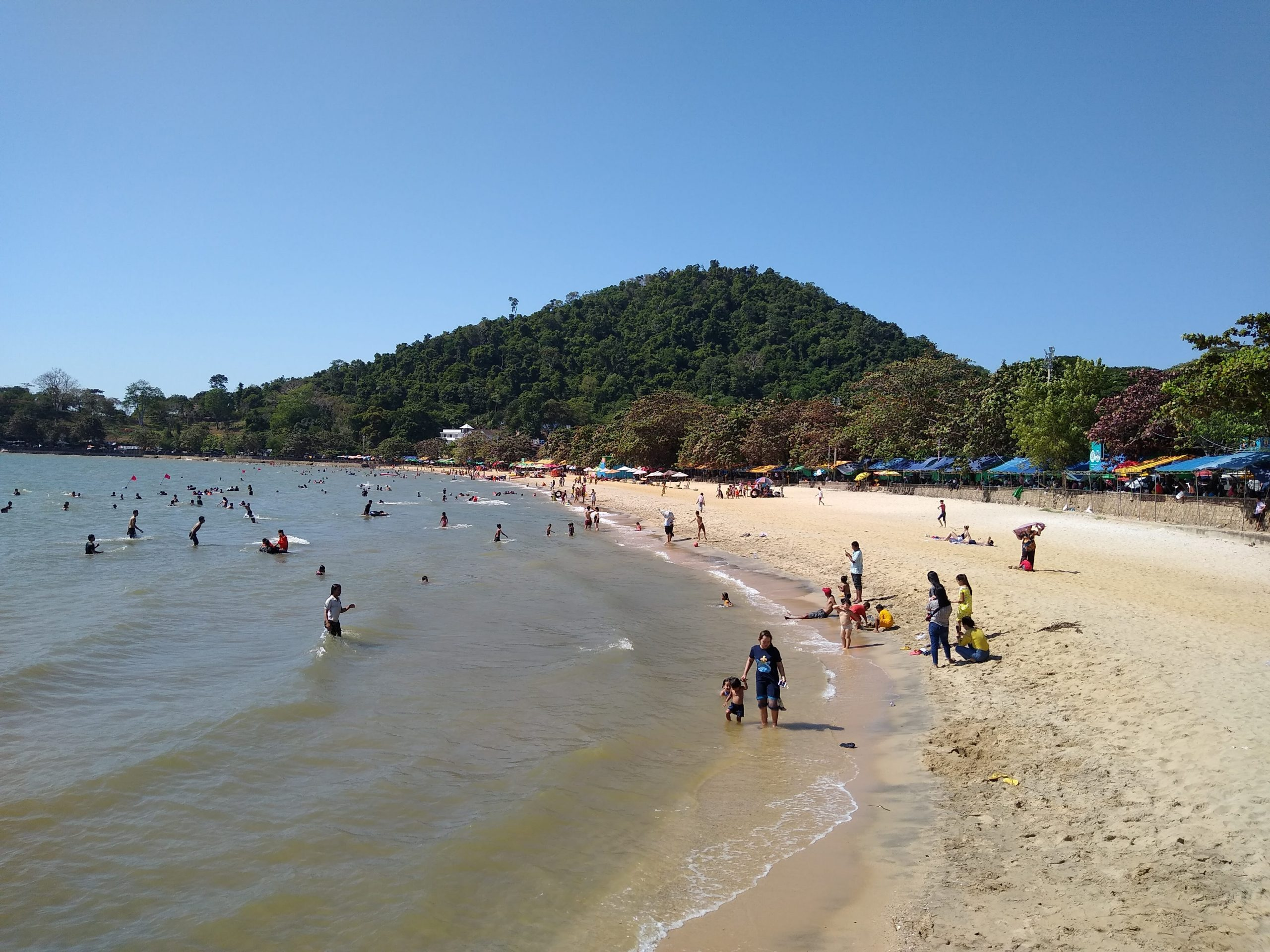 Top Beach in Cambodia to Enjoy The Turquoise Ocean-Kep Beach