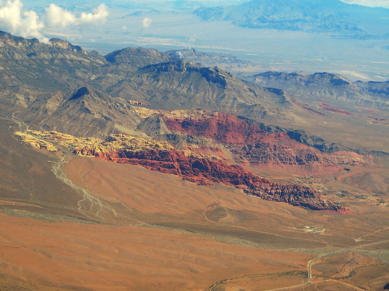 Incredible Place To Visit In Nevada, Red Rock Canyon National Conservation Area-Keystone Thrust Trail