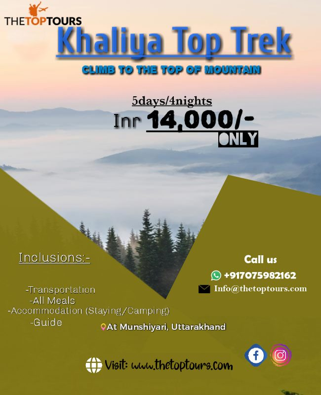 Khaliya Top Trek