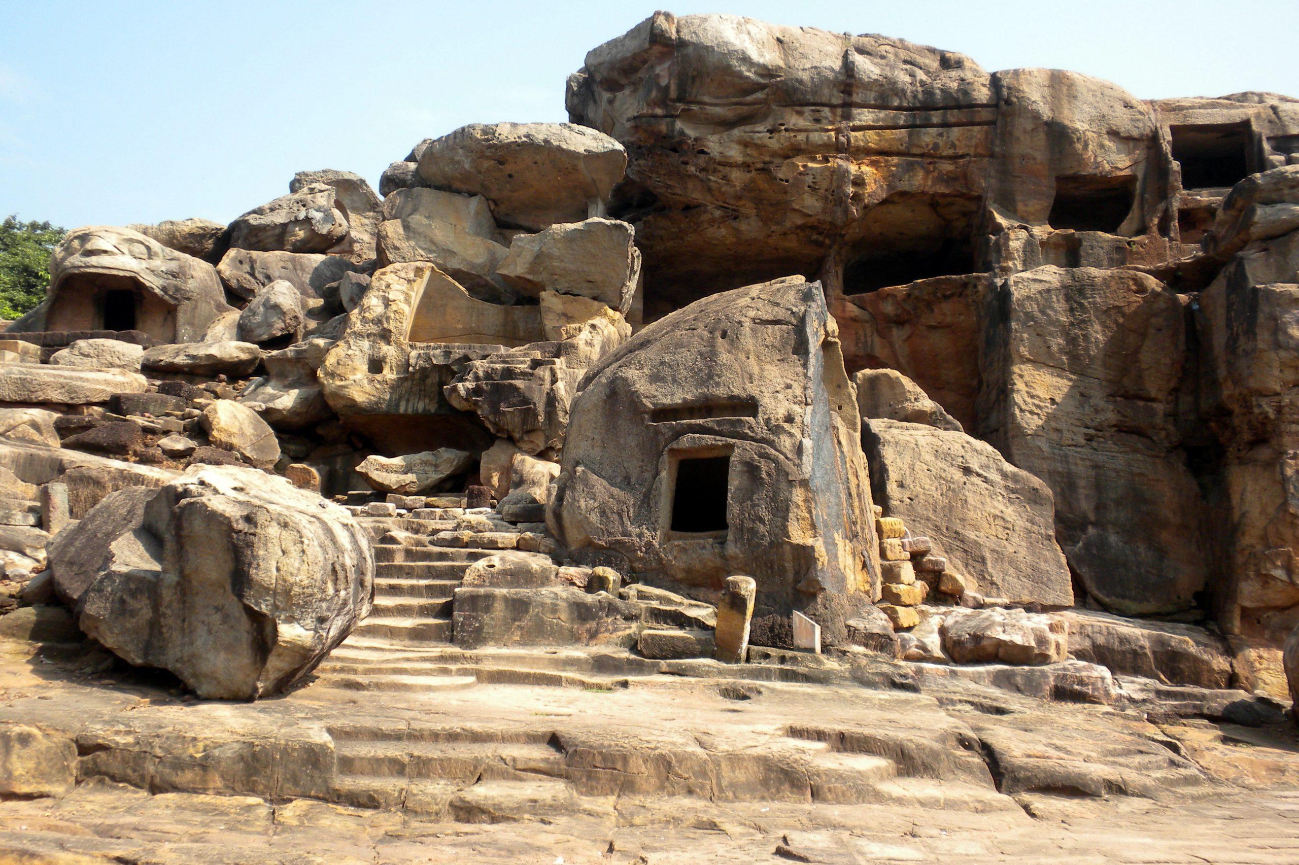Khandagiri And Udaygiri Caves - Most Popular Place To Visit In Bhubaneswar
