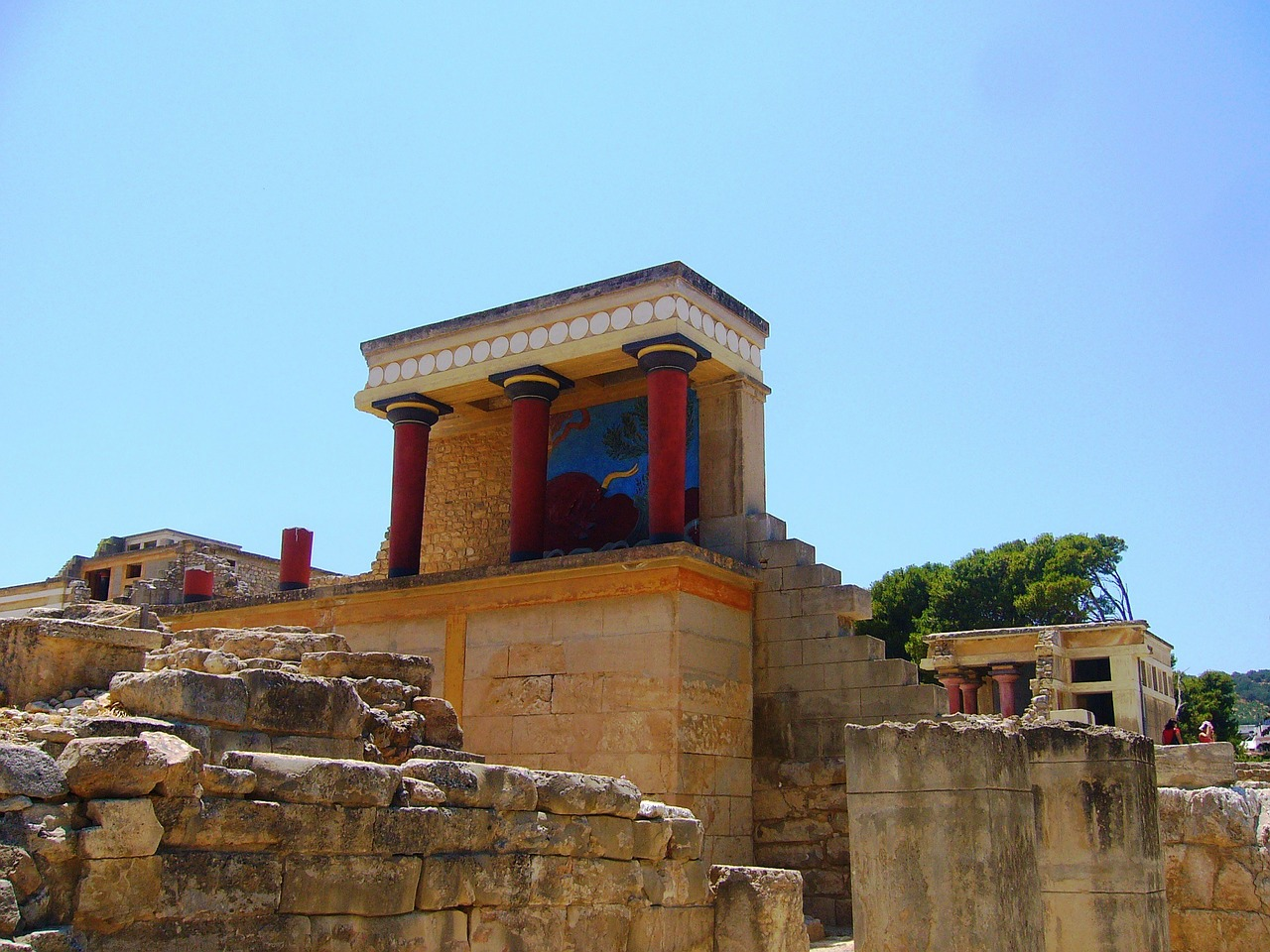 Best Place To Visit in Crete Islands-Knossos