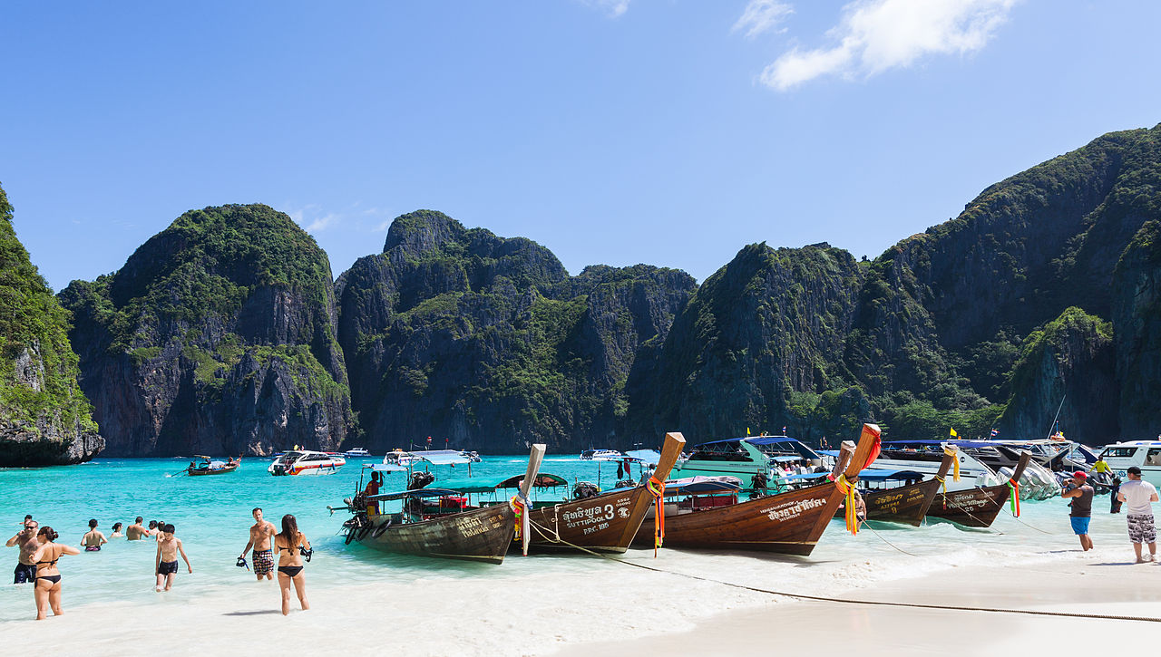 Ko Phi Phi Le-Best Island Near Krabi For A Beach Vacation This Summer