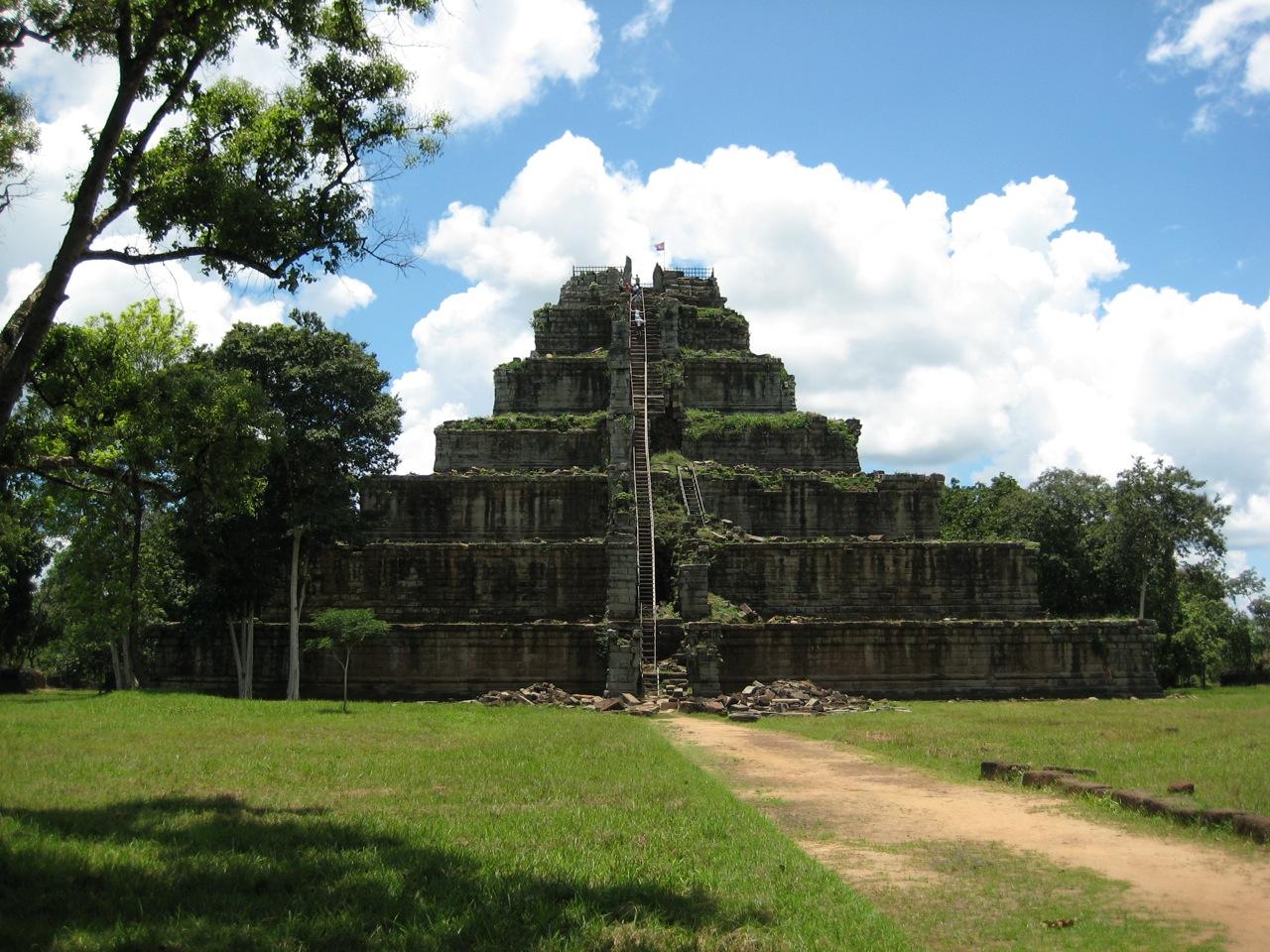 Cambodia Top Temple-Koh Ker
