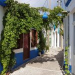 Visit Koskinou Village in Rhodes: Beautiful Town Of Ancient Houses and Colorful Doors and Walls Facing The Streets.