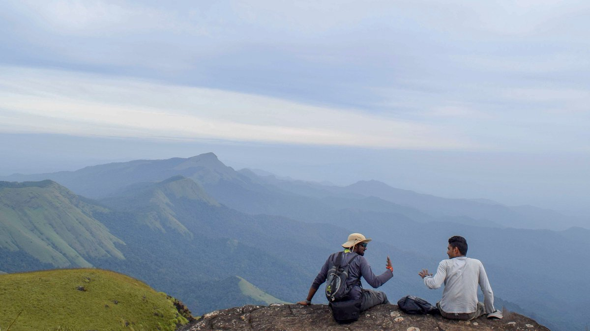 Best Place To Visit In Madikeri-Kotebetta Trek, Coorg