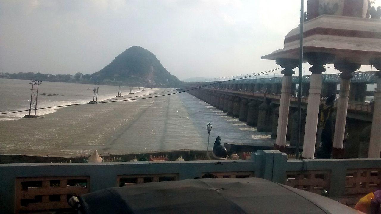 Sightseeing Place to Visit in Guntur-Krishna Barrage