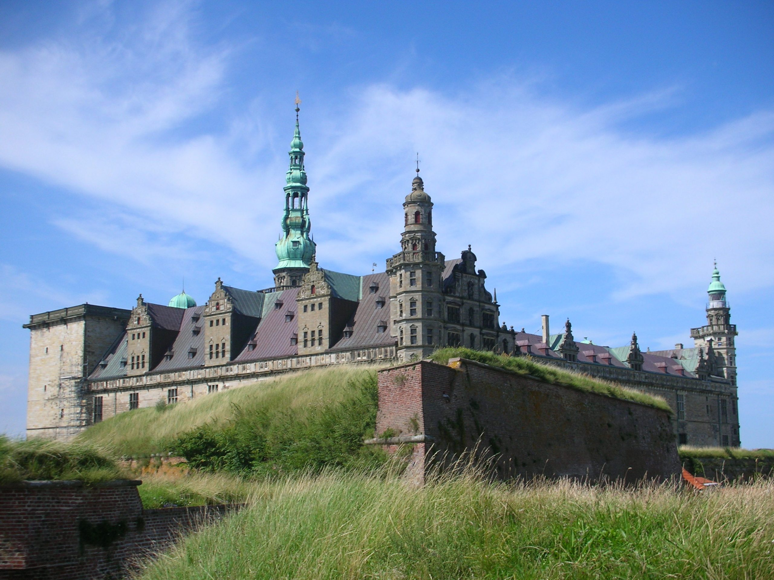 Kronborg Slot, Helesingor - Important Tourist Destination of Denmark