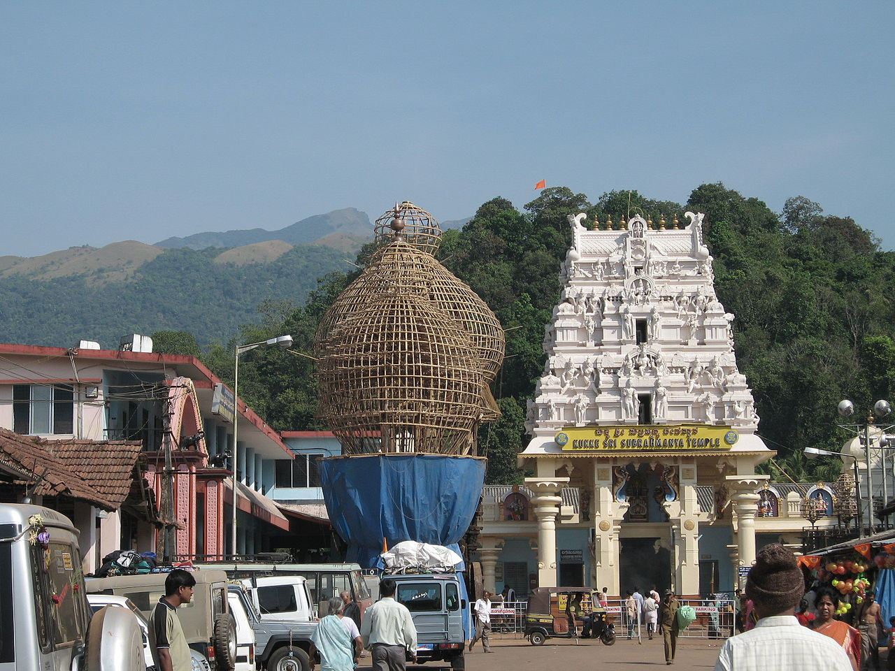 Kukke Subramanya Temple - Tourists Attraction in Sakleshpur