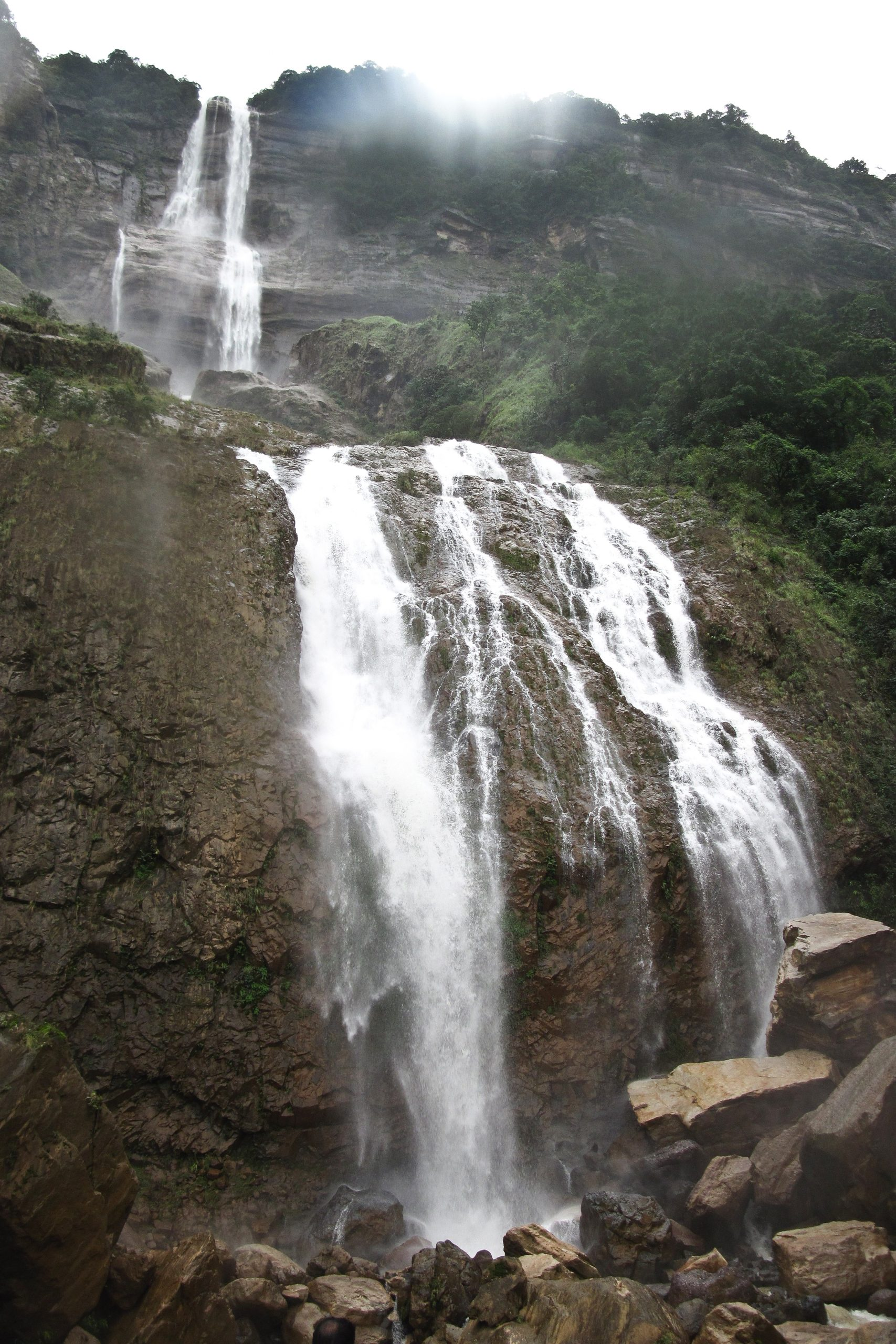 Nice Place to Visit In Cherrapunji-Kynrem Falls