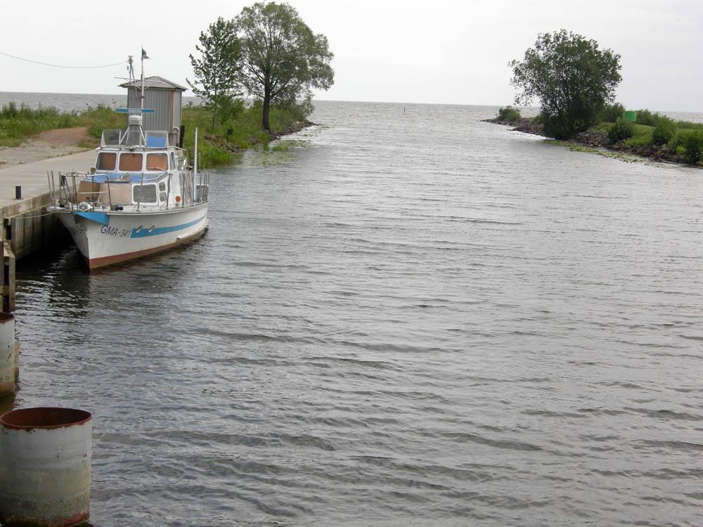 Lake Peipus In Estonia