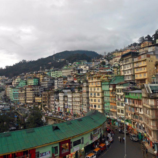 Lal Bazaar Best Shopping Places In Gangtok