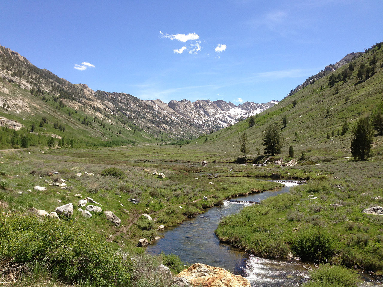Must Visit Place In Nevada-Lamoille Canyon