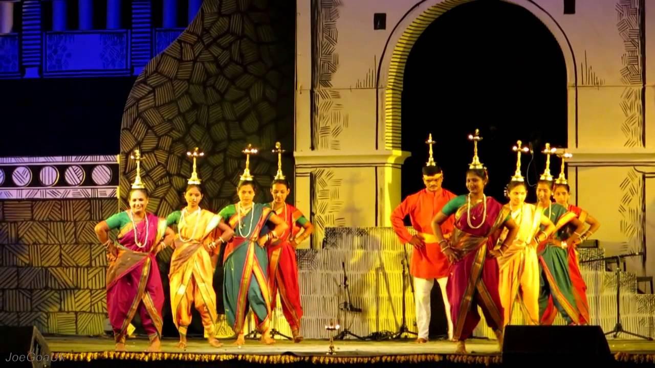 Popular Goan Traditional Folk DanceLamp Dance