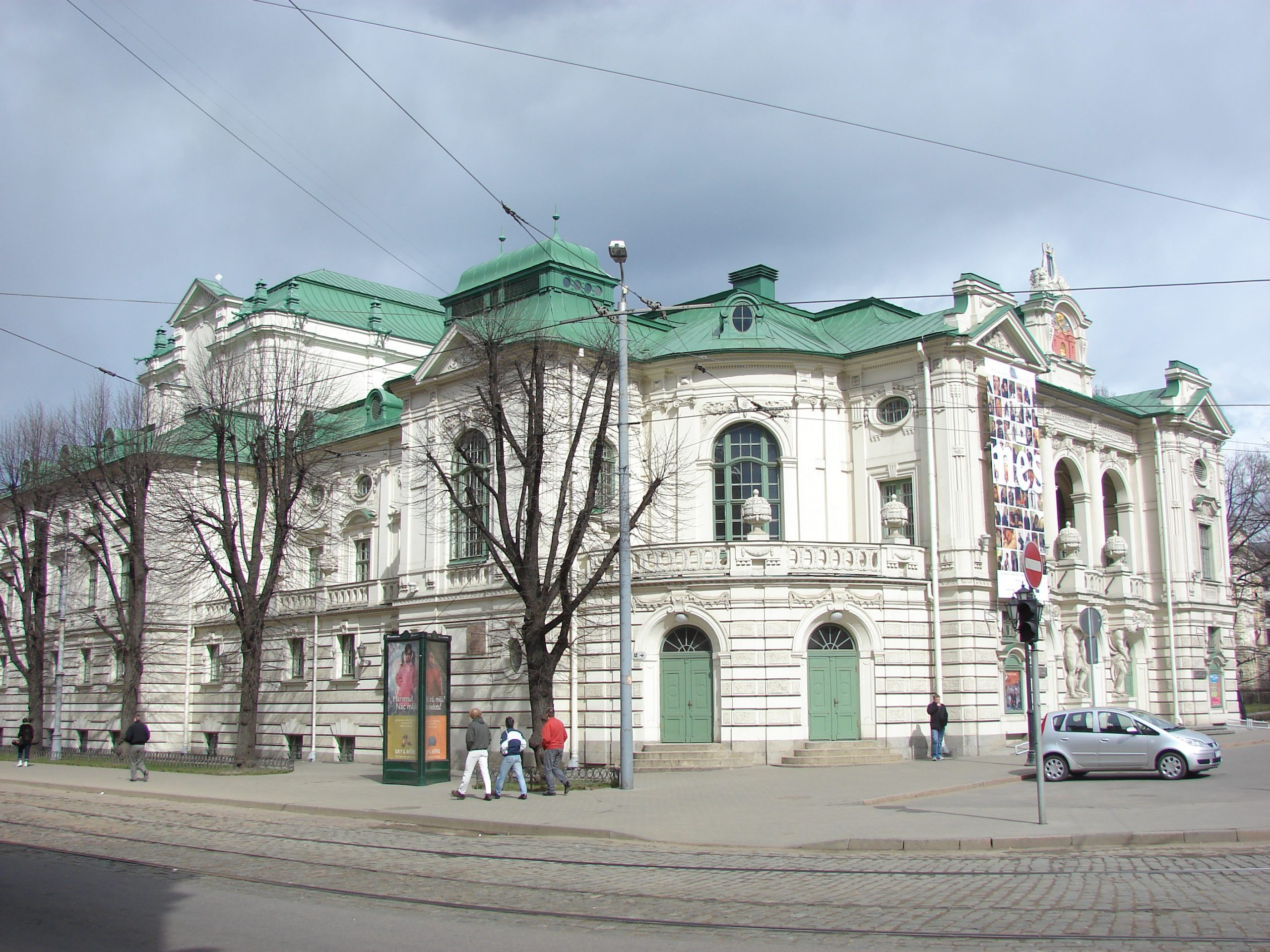 Latvian National Theater Riga