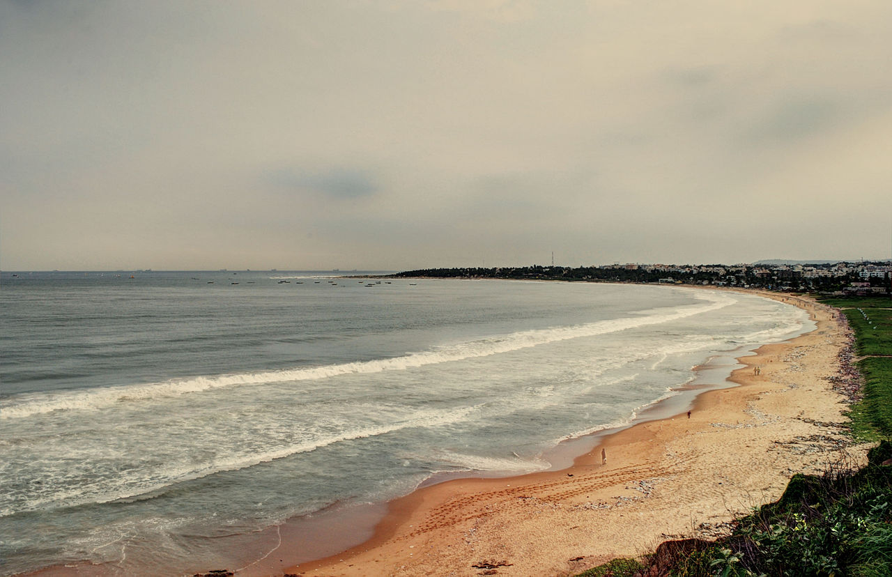 Sightseeing Place to Visit In Vizag-Lawson's Bay Beach