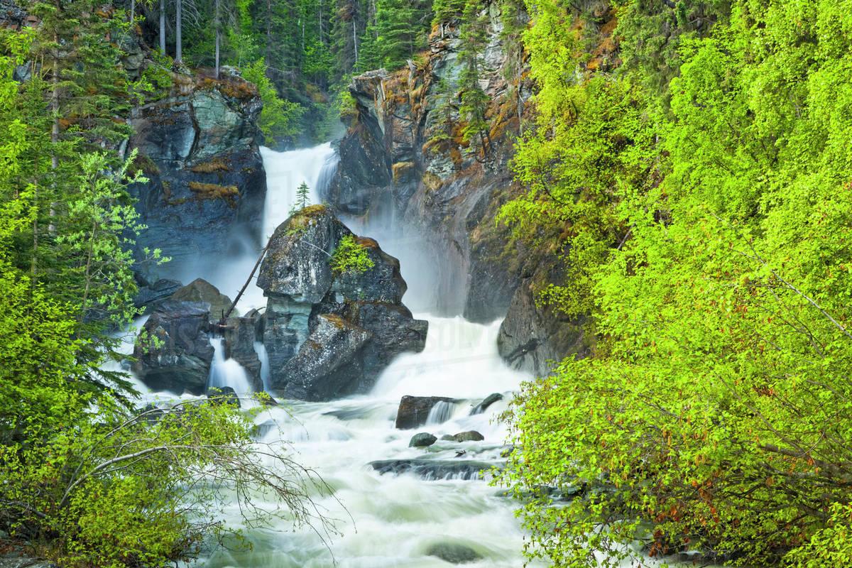 Best Waterfall In Alaska-Liberty Falls, Chitina
