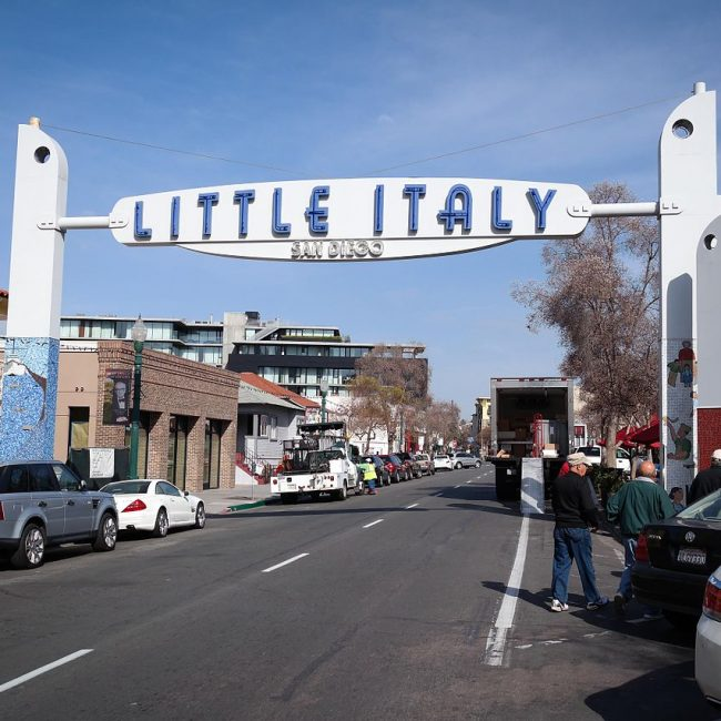Visit Little Italy - Popular and Unique Thing To Do When In San Diego