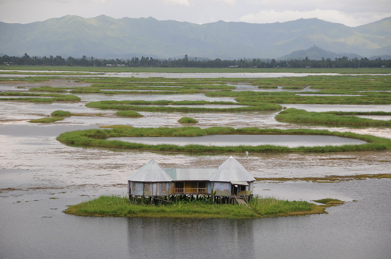 Best Visiting Place In Manipur-Loktak Lake