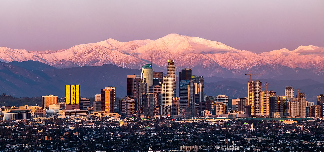 Best Vacation City in California-Los Angeles