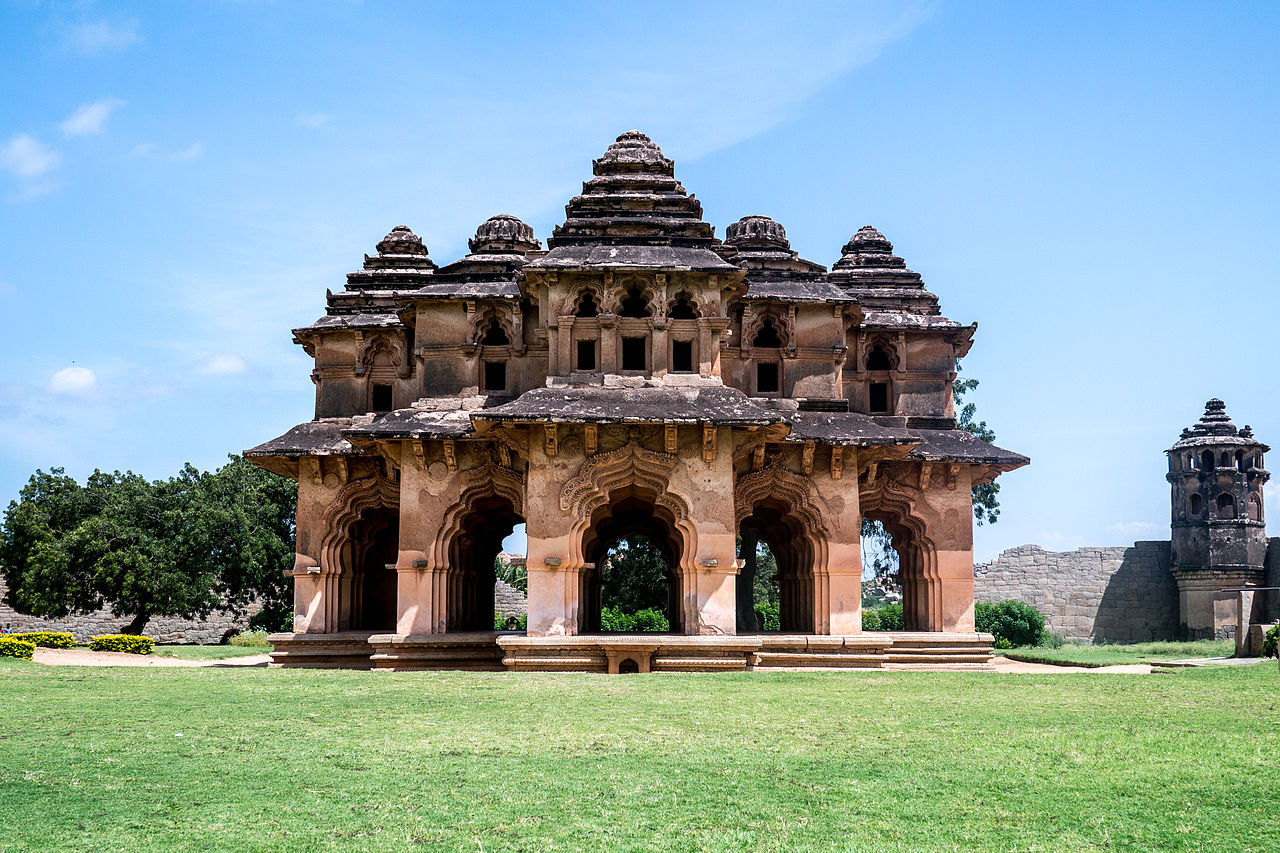 Places We Visited In Hampi-Lotus Palace