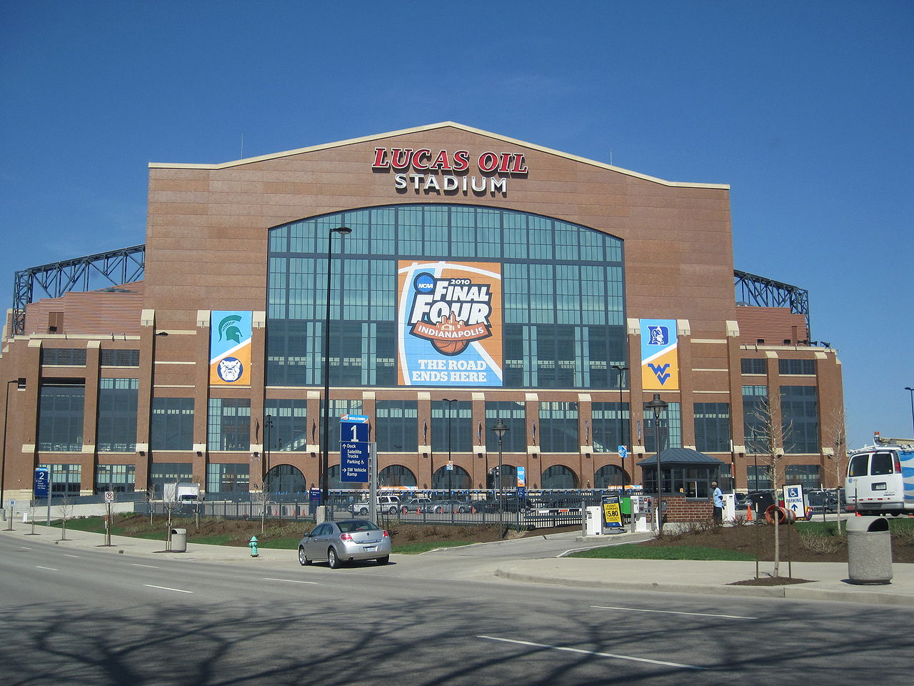 Top Place to Visit In Indiana-Lucas Oil Stadium