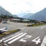 Lukla Airport in Nepal