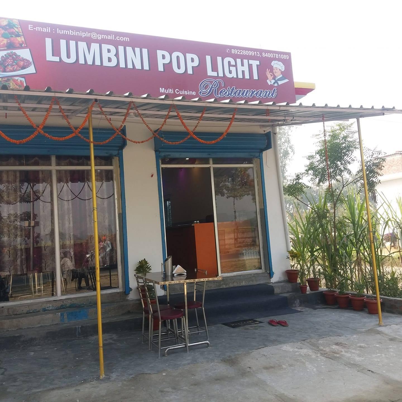 Tasty Food and Cuisine to Explore in Kushinagar-Lumbini Pop Light Restaurant