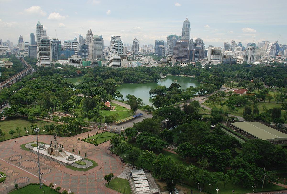 Top Place in Bangkok-Lumphini Park