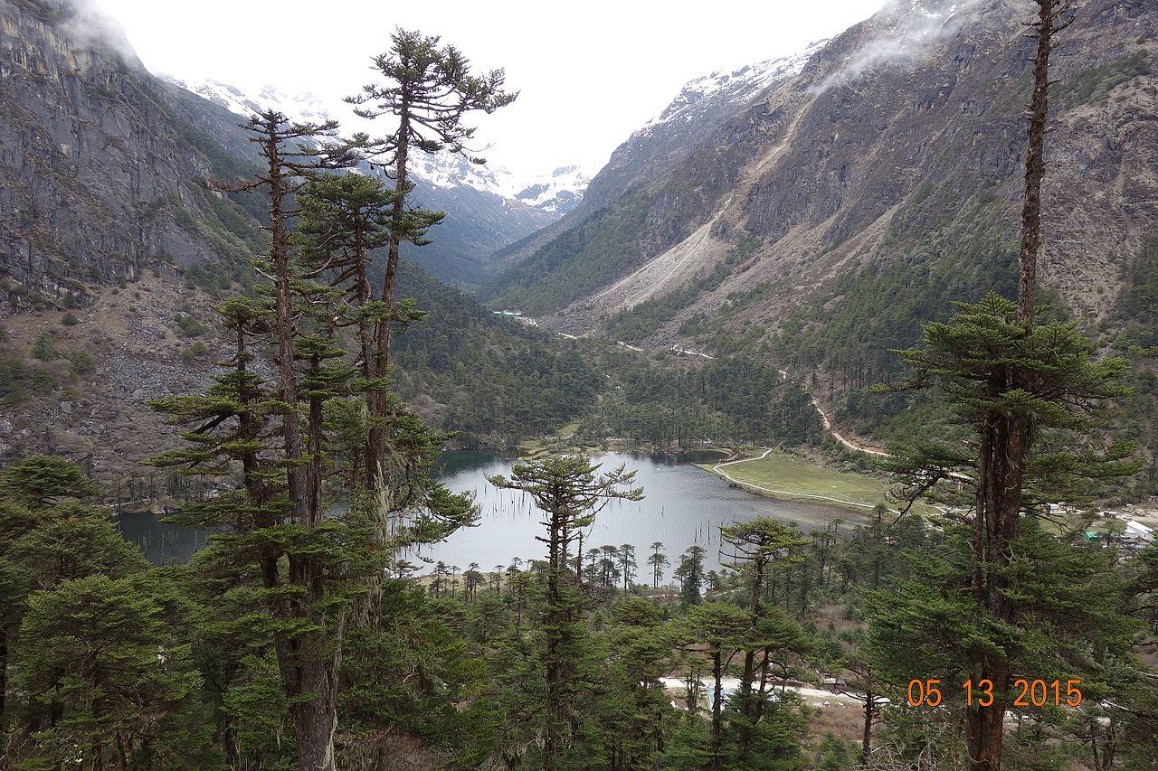 Madhuri Lake in Tawang