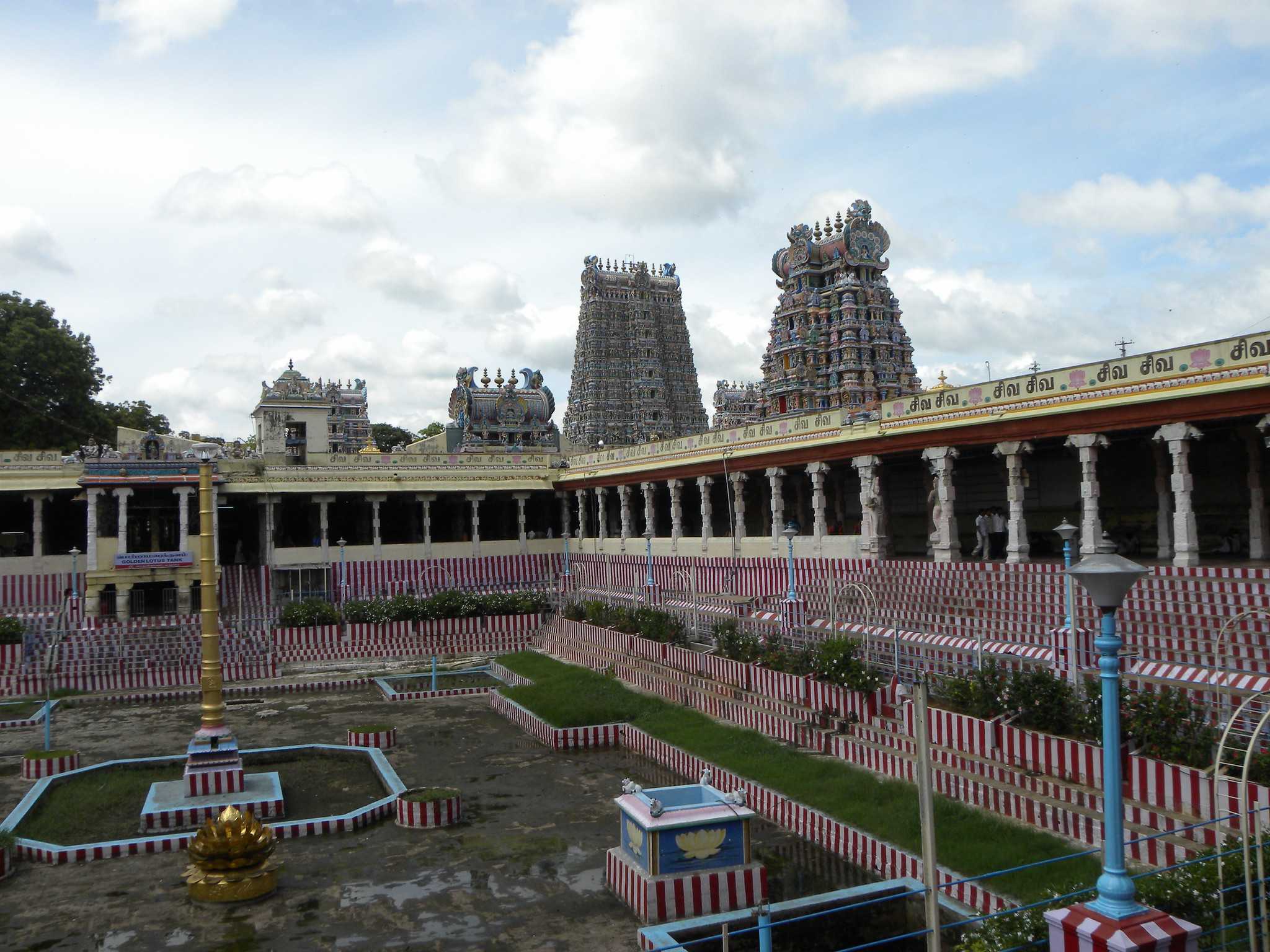 Madurai, Meenakshi Amman Temple In Tamil Nadu