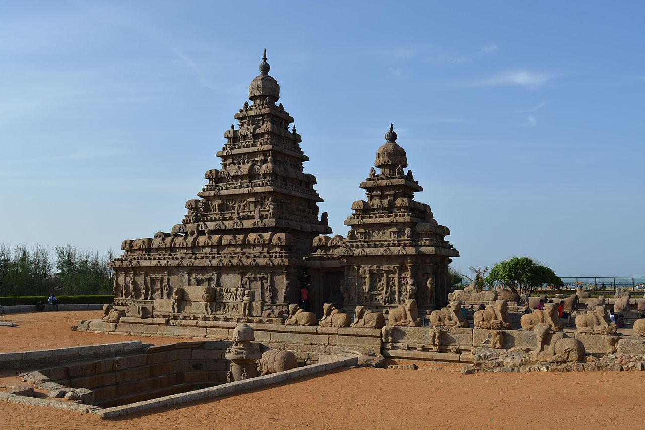 The Shore Temple, Mahabalipuram - Beautiful Weekend Destination From Kanchipuram