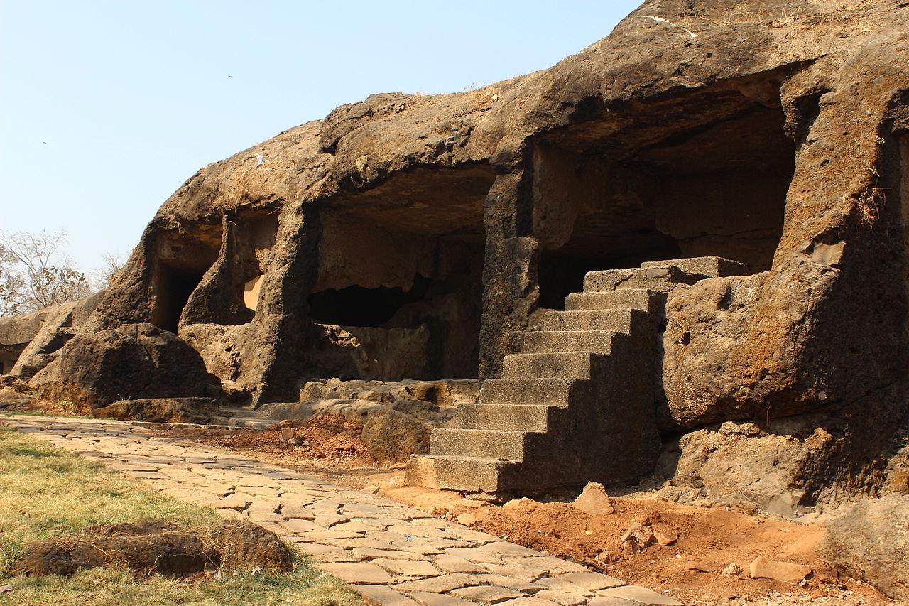 Mahakali Caves At the Present Time in Joeshwari, Mumbai City